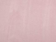 elastisches Wildleder Imitat -zartes lachsrosa