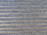 Jersey Glitzerstreifen, grau kupfer metallic