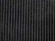 Jersey Samtstreifen, schwarz