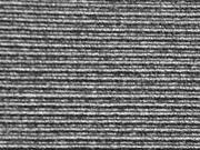 Plissee-Jersey, schwarz silber