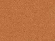 RESTSTÜCK 48 cm beschichteter Jersey Jeggings Stoff, rostbraun