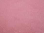 RESTSTÜCK 34 cm butterweiches Fellimitat Plüsch, rosé