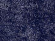 kuscheliger Fransenstrick, dunkelblau