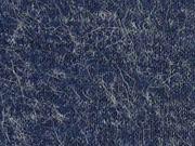 weicher haariger Strickstoff, dunkelblau