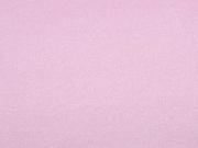 RESTSTÜCK 37 cm elastisches Wildleder Imitat Fake Suede, hellrosa