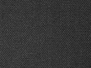 RESTSTÜCK 130 cm festerer Canvas Stoff, schwarz