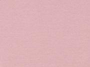 glattes Bündchen - hellrosa