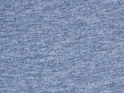 Sweatstoff Heavy Jogging angeraut, jeansblau melange