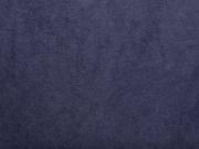 weicher Baumwollfleece, dunkelblau