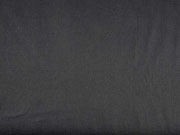 Baumwollstoff elastisch uni, schwarz