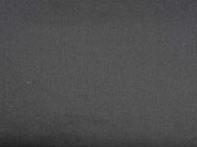 RESTSTÜCK 42 cm Baumwollsatin elastisch uni, schwarz