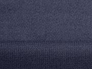 Doubleface Velour/Strick, dunkelblau