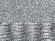 Doubleface Velour/Strick, anthrazit
