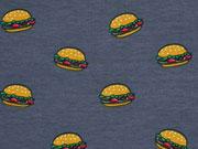 Jersey Hamburger, dunkelgrau