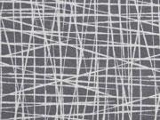 Jersey wilde Linien, grau
