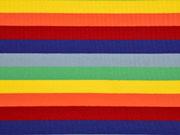 Jersey Blockstreifen Multicolor