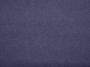Velour Caban Jackenstoff, dunkelblau
