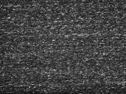 RESTSTÜCK 38 cm angerauter Sweat Melange, schwarz grau