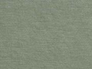 Leinenlook T-Shirtstoff uni, khaki