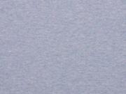 RESTSTÜCK 35 cm Organic Bio Bündchen, hellblau melange