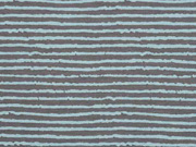 Jersey Blurry Stripes, grau hellblau