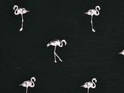 Jersey Flamingo, hellrosa schwarz