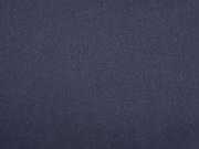 RESTSTÜCK 64 cm Baumwollsatin elastisch, dunkelblau