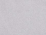 weicher Baumwollfleece, uni hellgrau