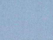 Canvas Stoff uni, helles jeansblau