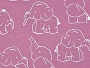 Jersey Elefanten, dunkles altrosa