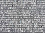 Baumwolle Striche, dunkelgrau