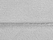 RESTSTÜCK 41 cm Wellnessfleece uni, hellgrau