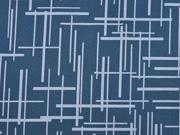 Softshell Linien, indigo