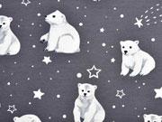 Jersey Eisbären Sterne, dunkelgrau
