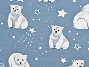 Jersey Eisbären Sterne, rauchblau