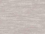 Baumwolle Leinen, beige weiß meliert
