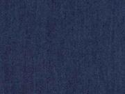 Viskose Jeanslook uni, dunkelblau