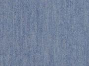Stretchjeansstoff uni, jeansblau