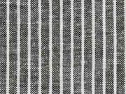 RESTSTÜCK 70 cm Leinen Viskose Nadelstreifen, schwarz meliert