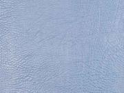 Vintage Lederimitat geprägte Optik, jeansblau metallic