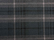 Jacquard Jersey großes Karo, hellrosa schwarz dunkelgrau