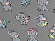 Jersey Elefanten, rosa grau