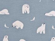Jersey Eisbären Fische, weiß graublau