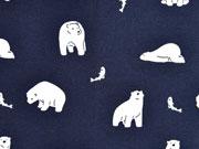 Jersey Eisbären Fische, weiß dunkelblau