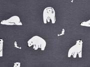 Jersey Eisbären Fische, weiß dunkelgrau