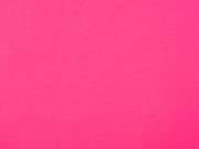 Jersey meliert, neon pink