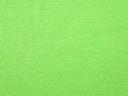 Jersey meliert, neon grün
