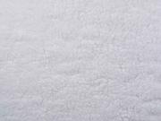 Teddyfleece Teddyfell aus Baumwolle, weiß
