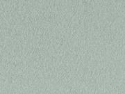 RESTSTÜCK 39 cm Bio Baumwollfleece Organic Cotton Fleece uni, altmint