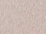 Mantelstoff Jackenstoff flauschig dick uni, nude